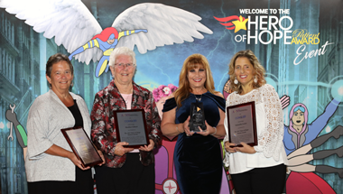 The Hero of Hope Patient Award Event