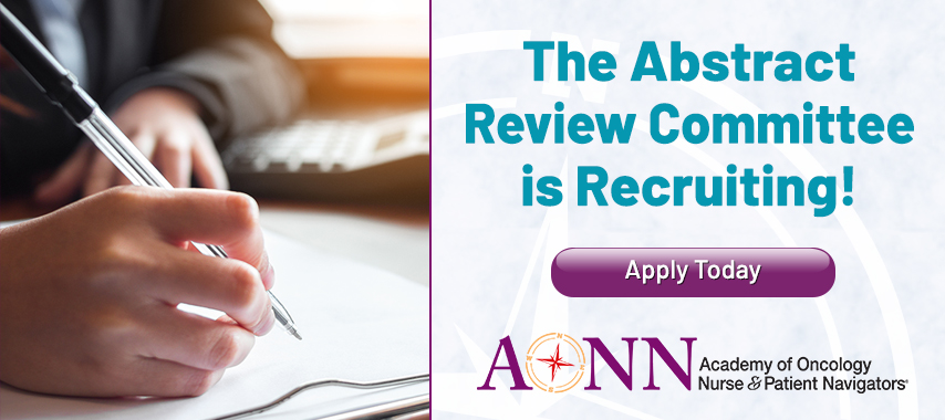 The Abstract Review Committee is Recruiting!