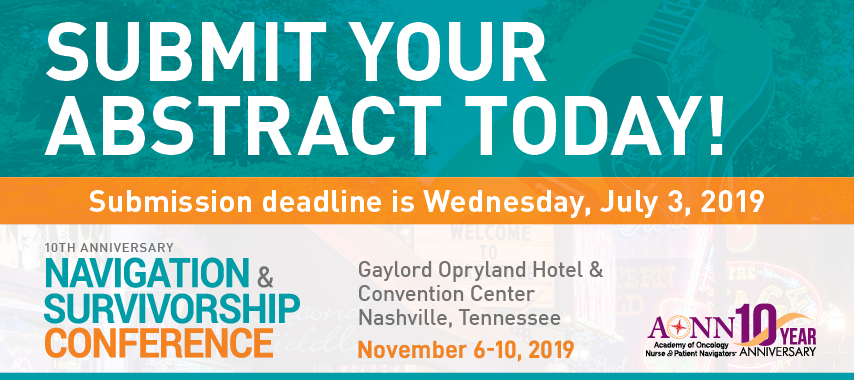 Submit Your Abstract Today